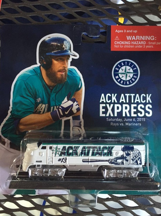 ack attack express train - seattle mariners