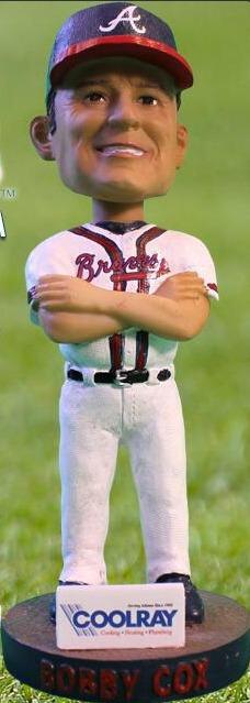 Bobby Cox Bobblehead - Gwinnette Braves - Atlanta Braves