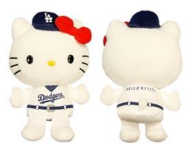 Los Angeles Dodgers_hellokittyplush_7-8-15