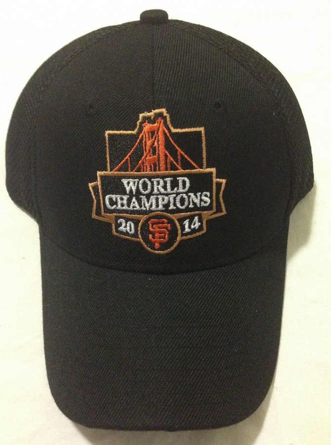 cap 2014 world series champions - san francisco giants