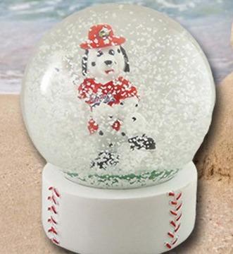 homer snowglobe - peoria chiefs - st louis cardinals