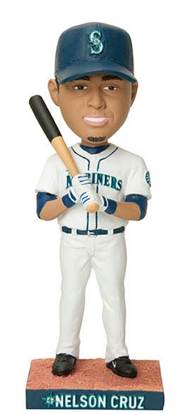 nelson cruz bobblehead - seattle mariners