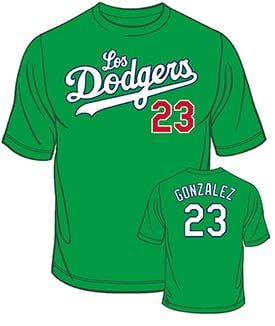Los Angeles Dodgers hispanic heritage tshirt 10 3 15 - Padres announce 2019 Promotional Schedule; Single
