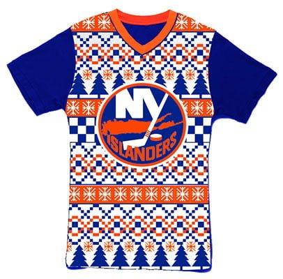 New York Islanders_Ugly Holiday T Shirt_12-21-15