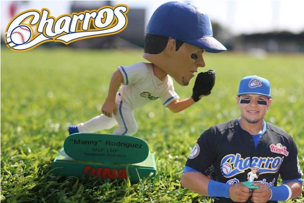 Charros de Jalisco - Manny Rodriguez Bobblehead - 11-24-2015