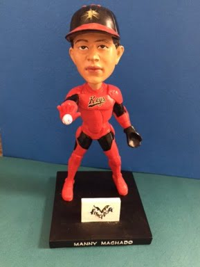 Fredrick Keys Iron Manny Machado Bobblehead 5-31-2016