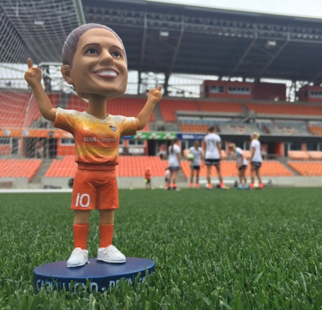 Carli Llyod Bobblehead - Houston Dash - 4-16-2016