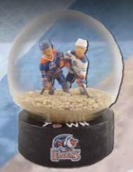 No Snow Globe - Bakersfield Condors - 1-15-2016