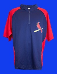 St Louis Cardinals Adult Pullover  5-21-2016