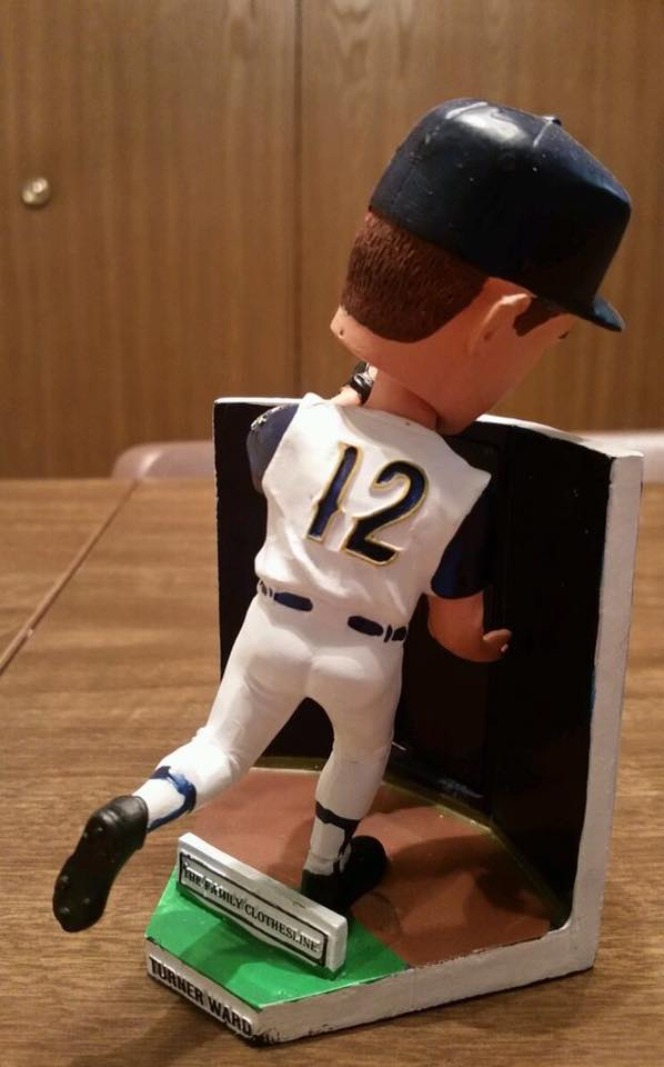 State College Spikes - Tuner Ward Bobblehead 2007