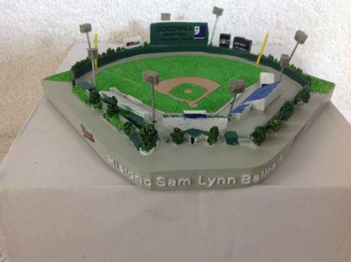 Bakersfield Blaze HISTORIC Sam Lynn Ballpark Stadium REPLICA STADIUM SGA