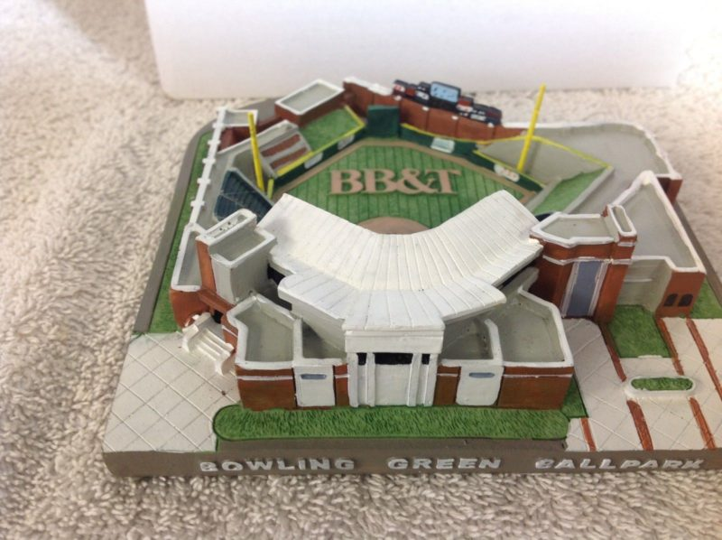 Bowling Green Kentucky Hot Rods Citizens First Ball Park REPLICA