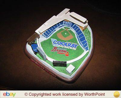 Gwinnett Braves CoolRay Field Replica (MiLB)