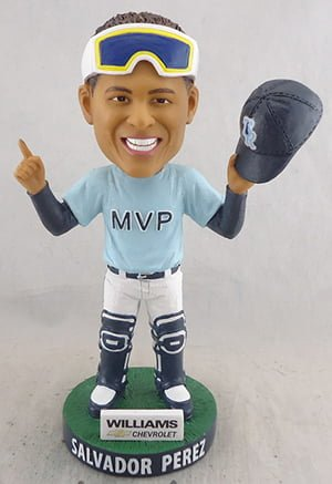 Wilmington Blue Claws Salvador Perez Bobblehead 7-9-2016