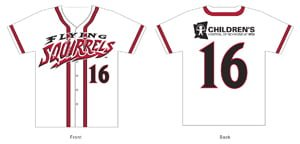 replica kids jersey - richmond flying squirrels - 8-14-2016