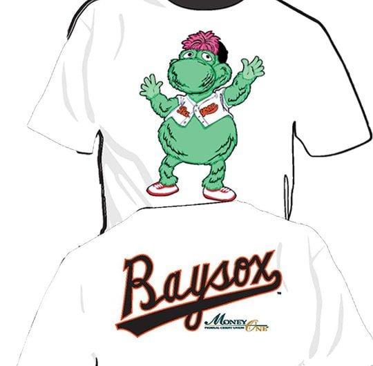 Bowie Baysox The Louie T-Shirt 5-29-2016