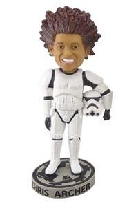 Chris Archer Stormtrooper Bobblehead - Tampa Bay Rays - 6-11-2016