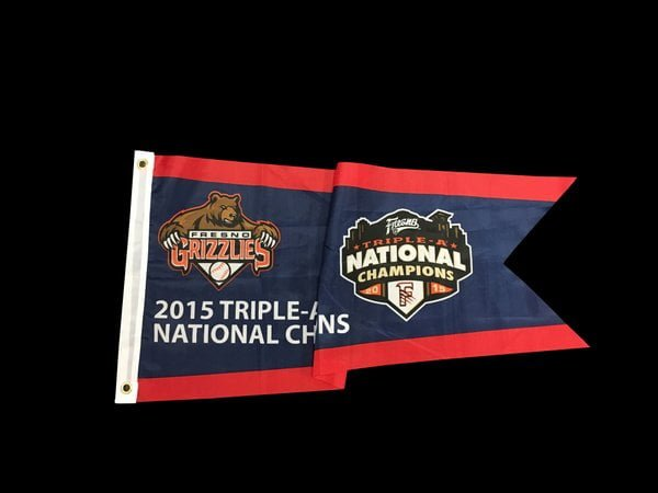 Fresno Grizzlies Champ Flag 4-15-2016