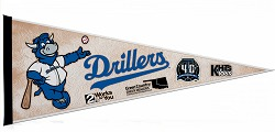 Tulsa Drillers Team Pennant 7-17-2016