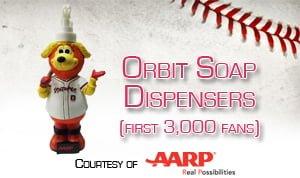Albuquerque Isotopes Soap Dispenser 6-3-2016