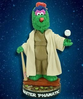 Philadelphia Phillies Master Phanatic Star Wars Bobblehead 7-21-2016