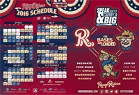 magnet schedule - frisco roughriders - 4-14-2016