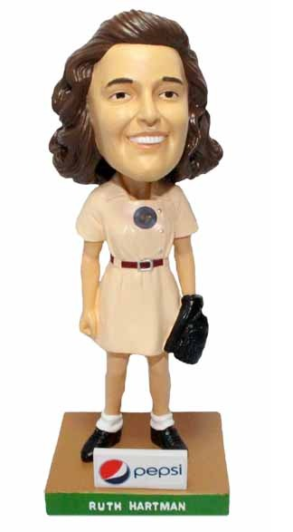 ruth hartman bobblehead - reading fightin phils - 4-8-2016