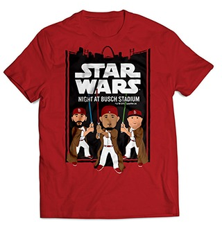 star wars tshirt - st louis cardinals - 7-20-2016