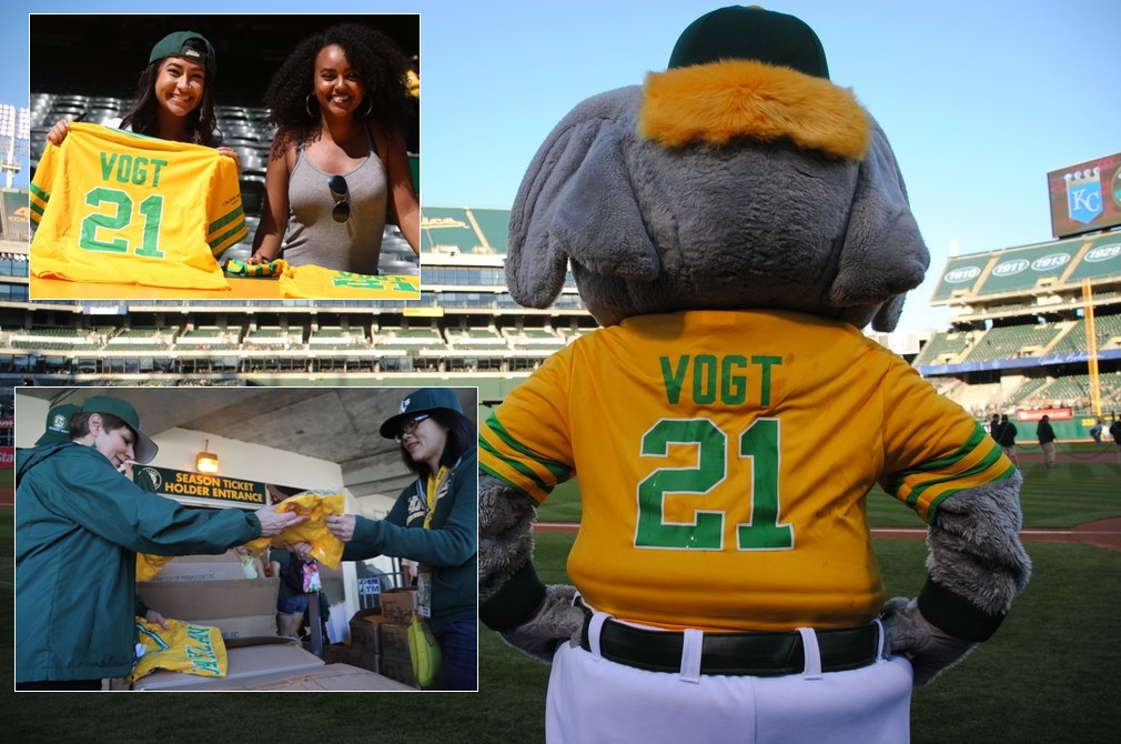 vogy replica throwback jersey - oakland athletics - 4-16-2016