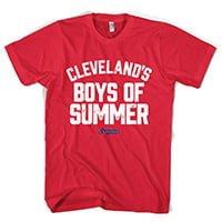 Cleveland Indians Boy of Summer T Shirt 5-14-2016