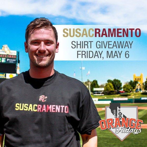 Sacramento River Cats – Susacramento T-Shirt 5-6-2016