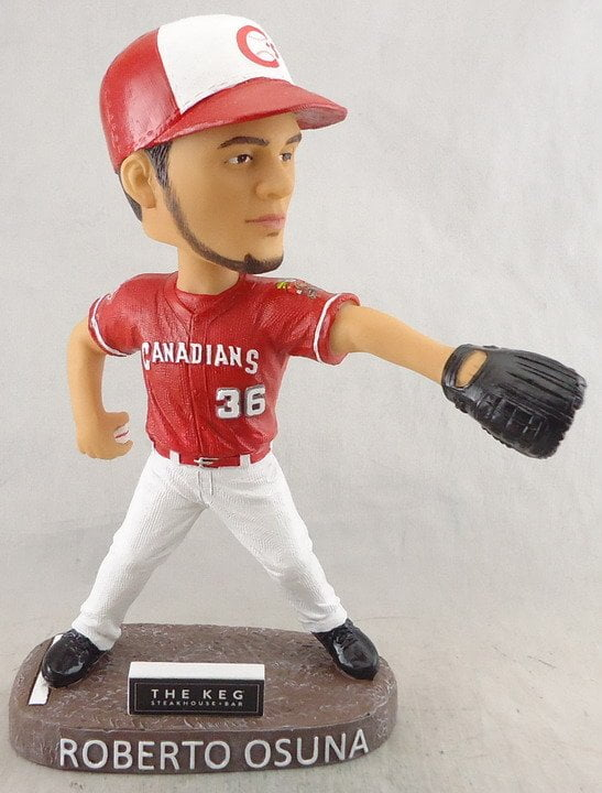 Vancouver Canadians Roberto Osuna Bobblehead 8-10-2016