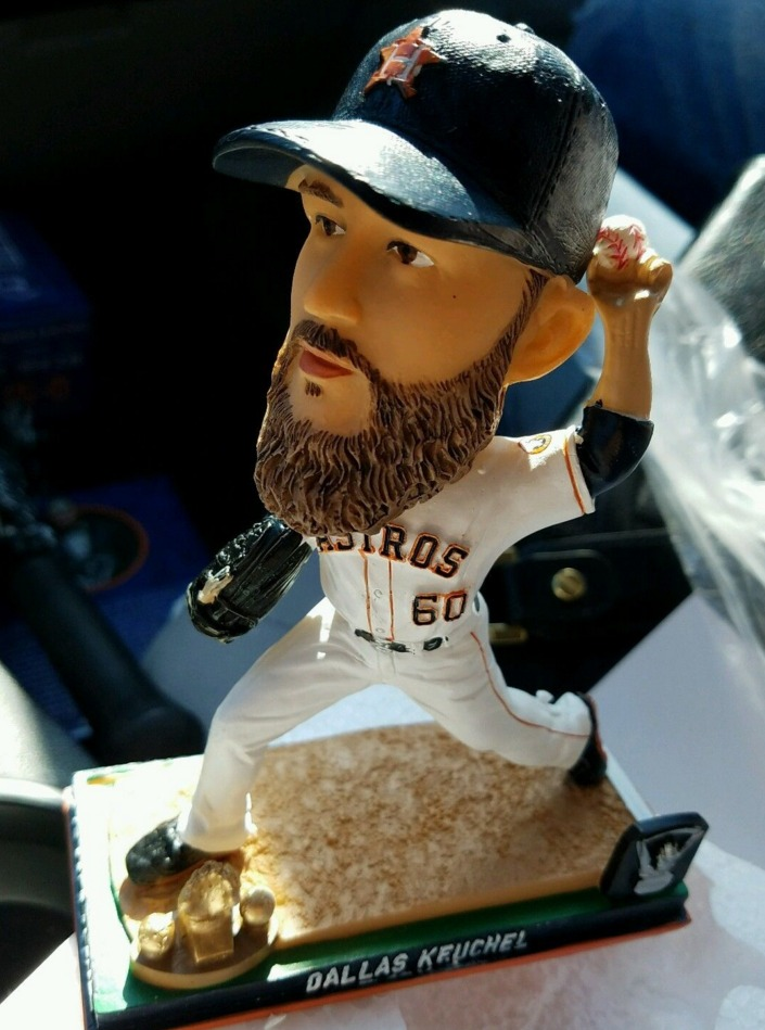dallas keuchel bobblehead - houston astros - 5-7-2016