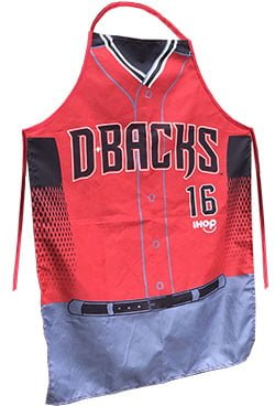 Arizona Diamondbacks D backs BBQ Apron 5 30 2016 - Contest Giveaway