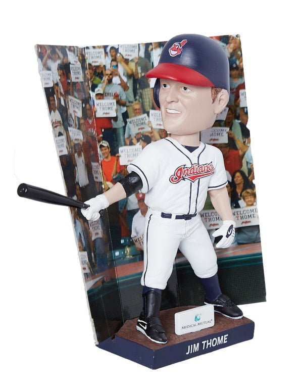 Cleveland Indians Jim Thome Bobblehead 7-30-2016