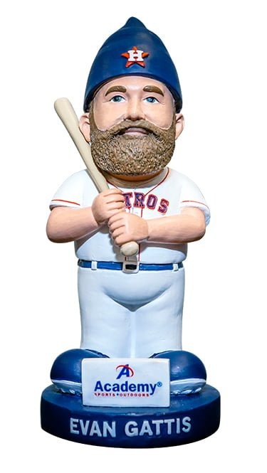 Houston Astros Evan Gattis Gnome 7-23-2016