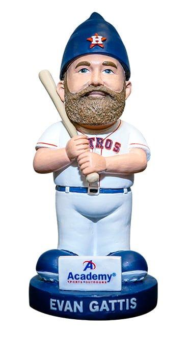 Houston Astros Evan Gattis Gnome 7-23-2016
