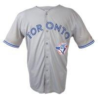 save off d3ed2 11a41 July 10, 2016 Toronto Blue Jays - Alumni Replica Grey Jersey ...