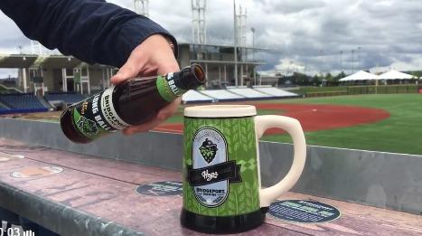 beer stein - hillsboro hops - 7-29-2016