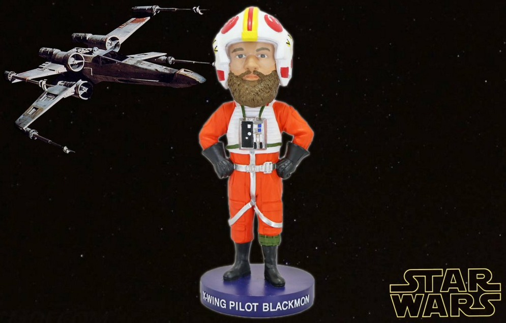 charlie blackmon xwing star wars bobblehead - 7-23-2016