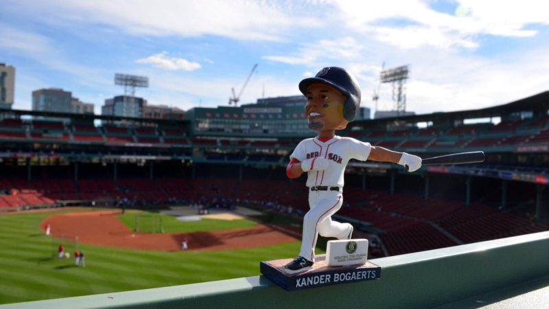 Boston Red Sox Xander Bogaerts Bobblehead 8-30-2016