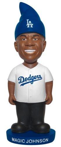 Los Angeles Dodgers Magic Johnson Gnome 8-14-2016