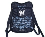 Milwuakee Brewers Jonathan Lucroy Kids Chest Protector Backpack 8-28-2016