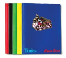 school folder - quad cities river bandits - 8-28-2016