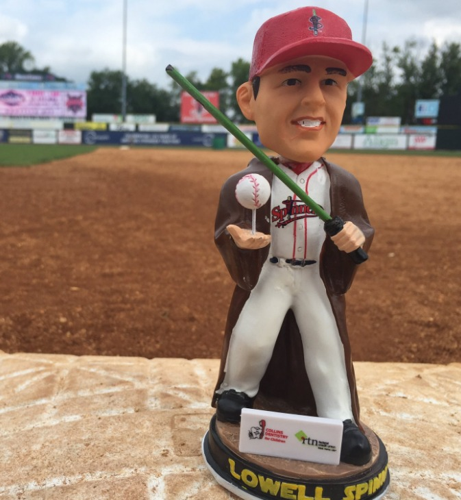star wars bobblehead - lowell spinners - 8-20-2016 (2)