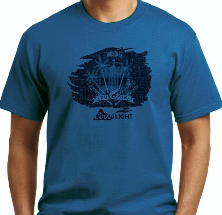 tshirt - clearwater threshers - 8-5-2016