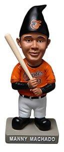 Baltimore Orioles Manny Machado Garden Gnome 7-9-2016
