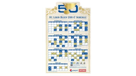 Stl blues schedule giveaways 2018