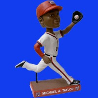 Washington Nationals Nationals Fan Choice Bobblehead - Michael A Taylor 9-9-2016