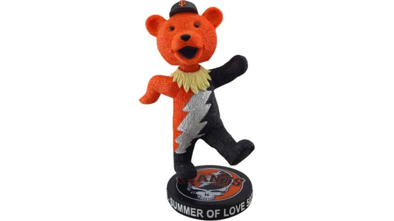 August 3 2017 San Francisco Giants Grateful Dead Bear